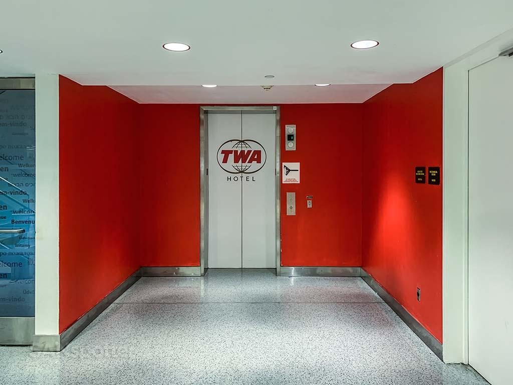 TWA hotel elevator