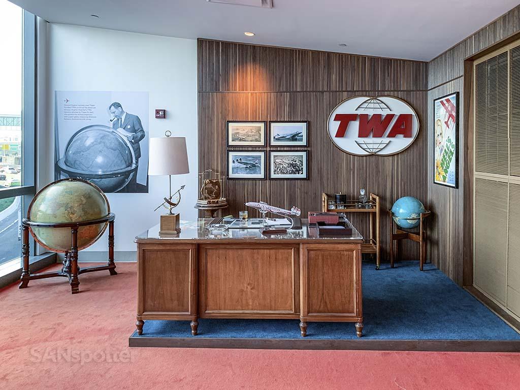 Jack Frye's office TWA hotel