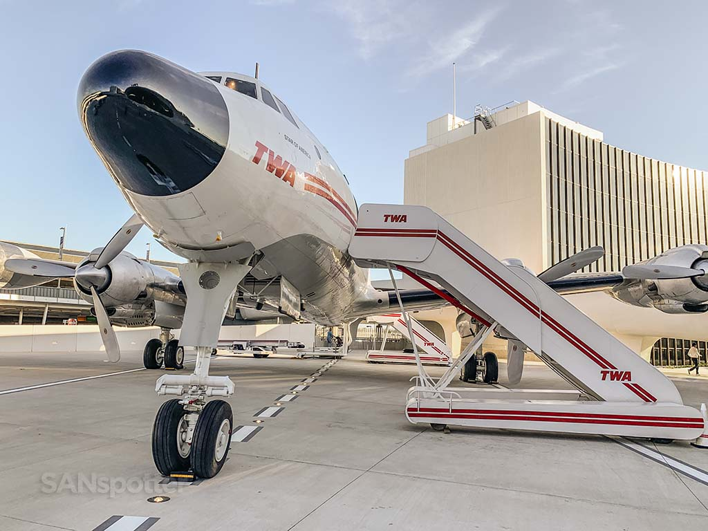 TWA hotel restored constellation