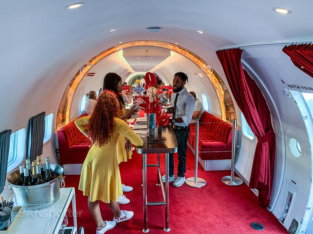 TWA hotel Connie bar and lounge