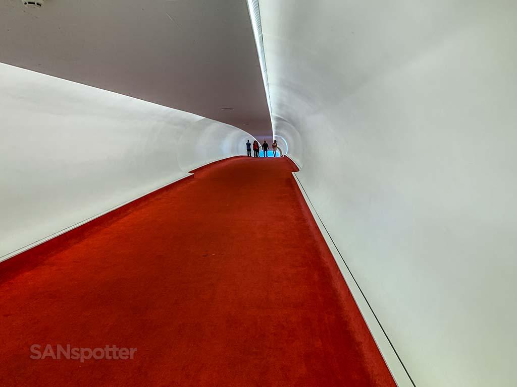 TWA hotel tunnels
