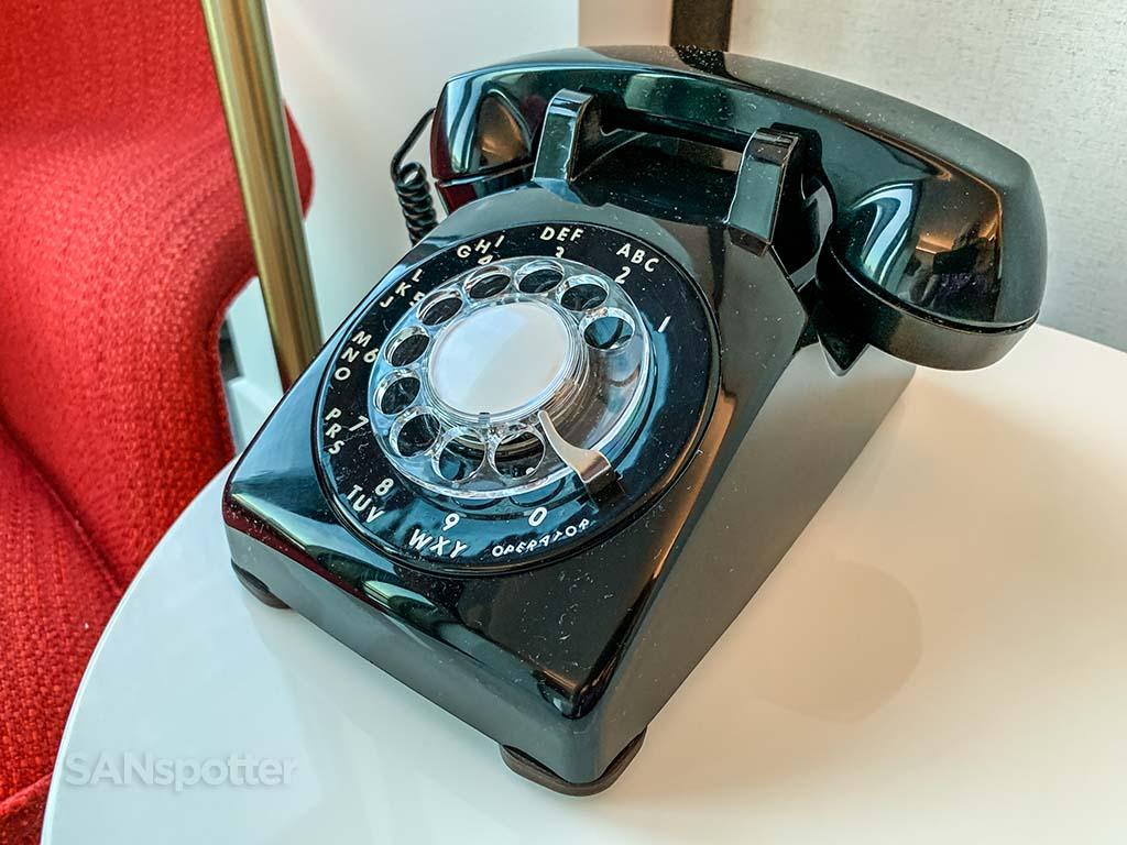 TWA hotel rotary phone