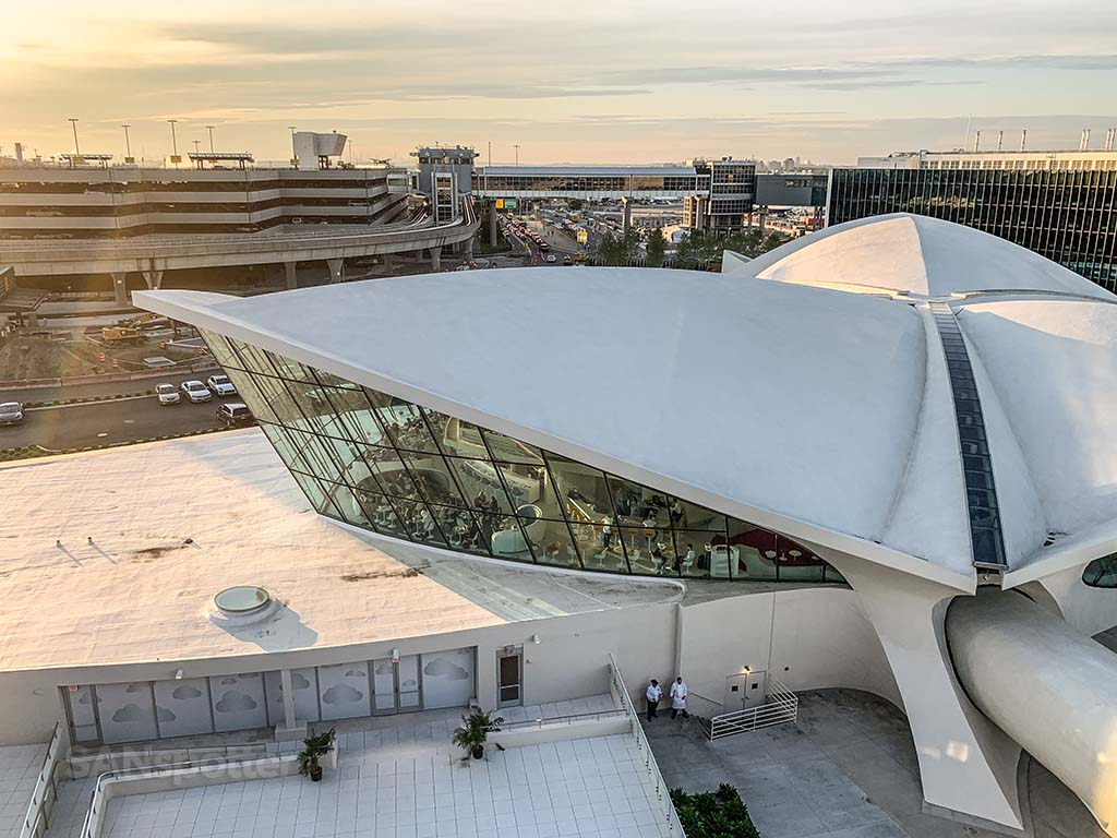 TWA hotel main building