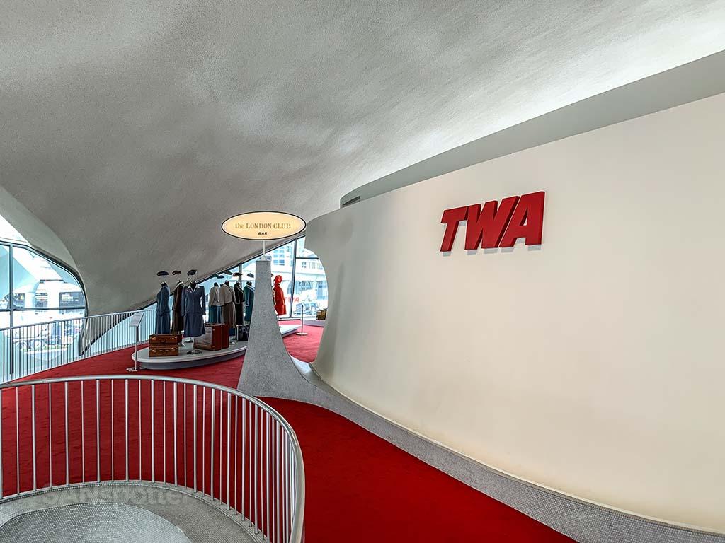TWA hotel interior