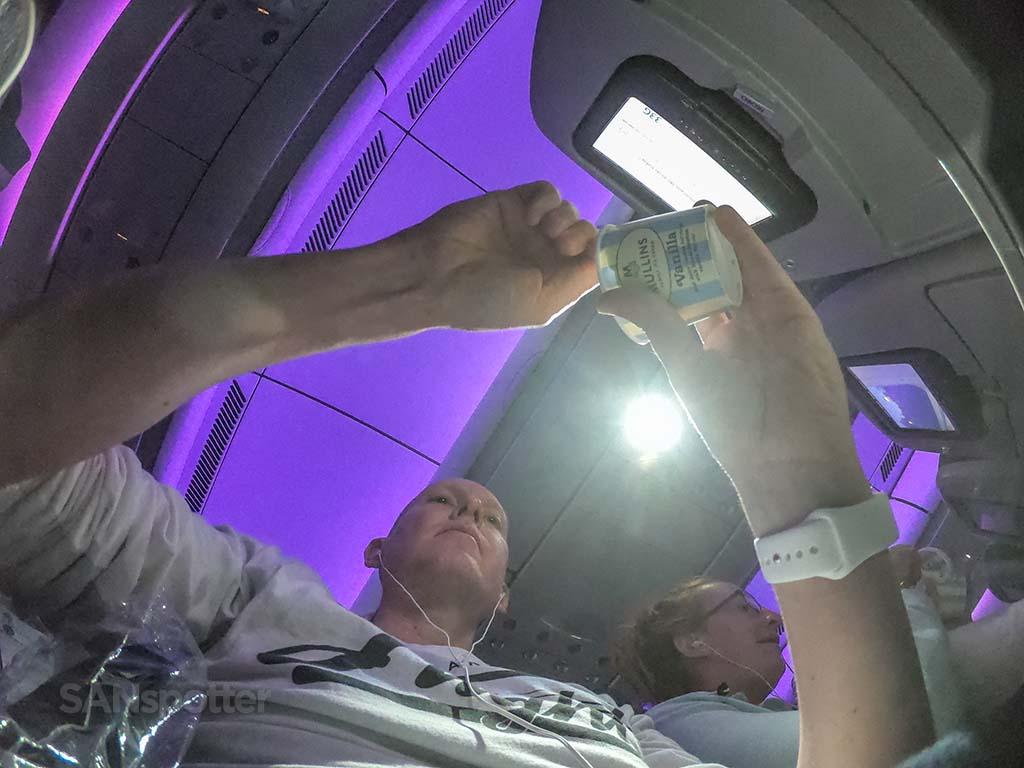 Sanspotter selfie Aer Lingus