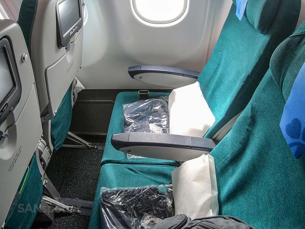 Aer Lingus A330-200 economy seats