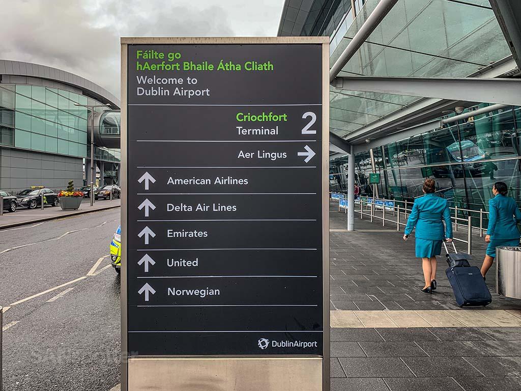 Aer Lingus Terminal 2 Dublin