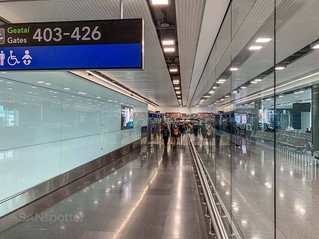 Terminal 2 interior Dublin Airport