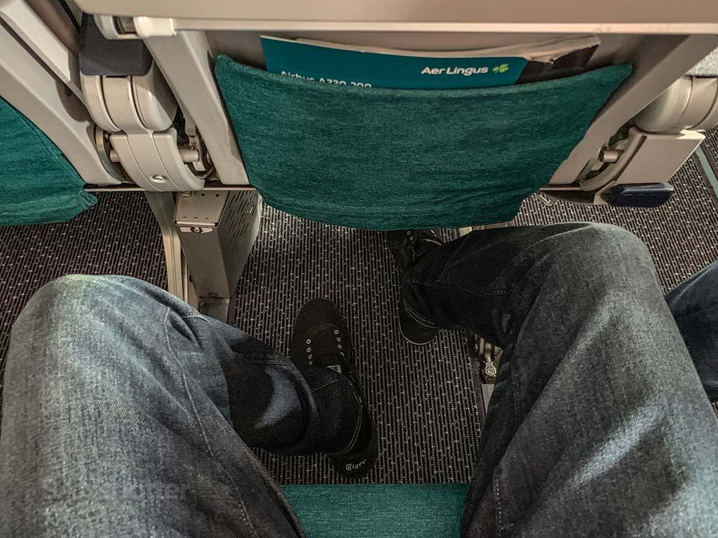 Aer Lingus economy leg room