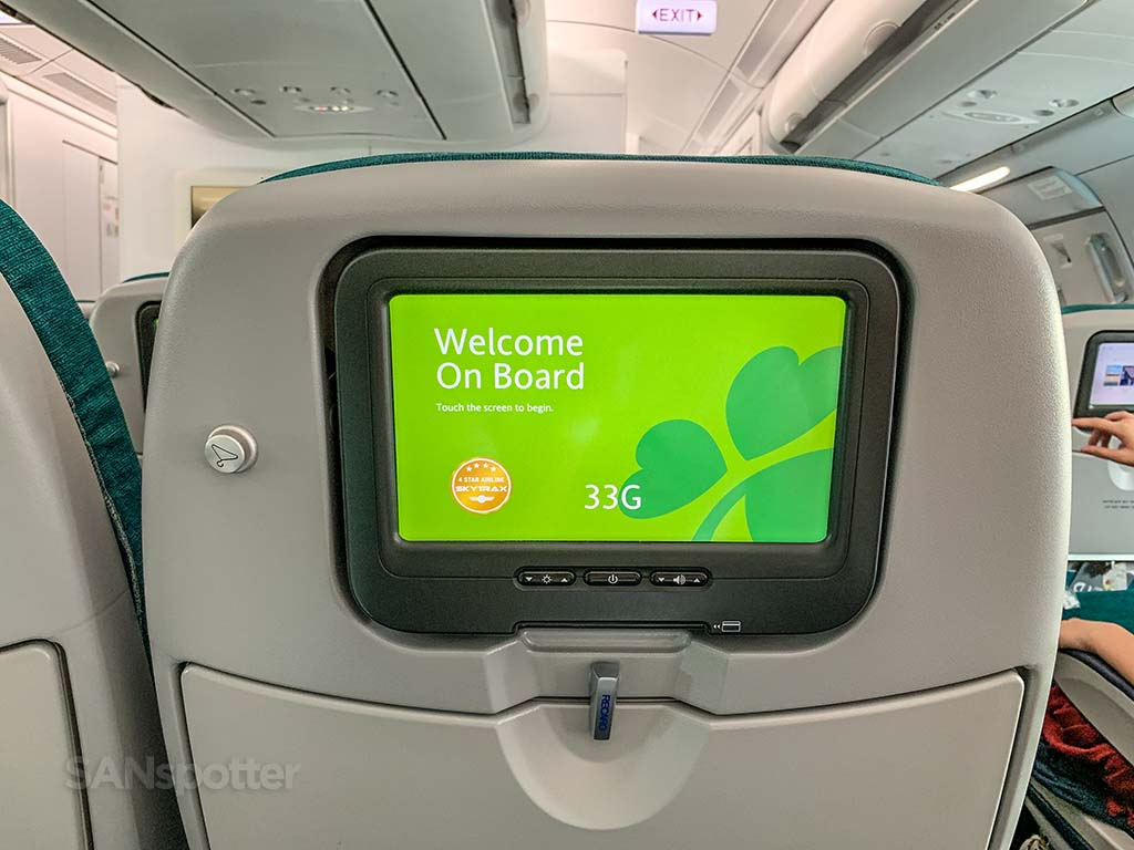 Aer Lingus video entertainment