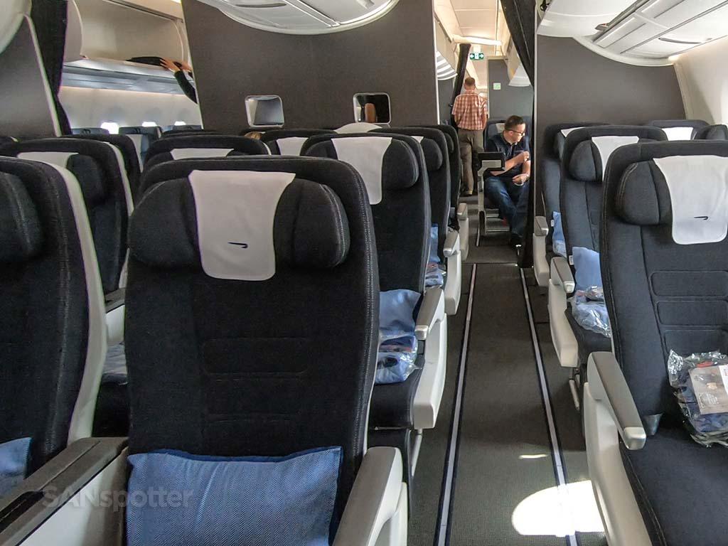 British Airways a350-1000 premium economy