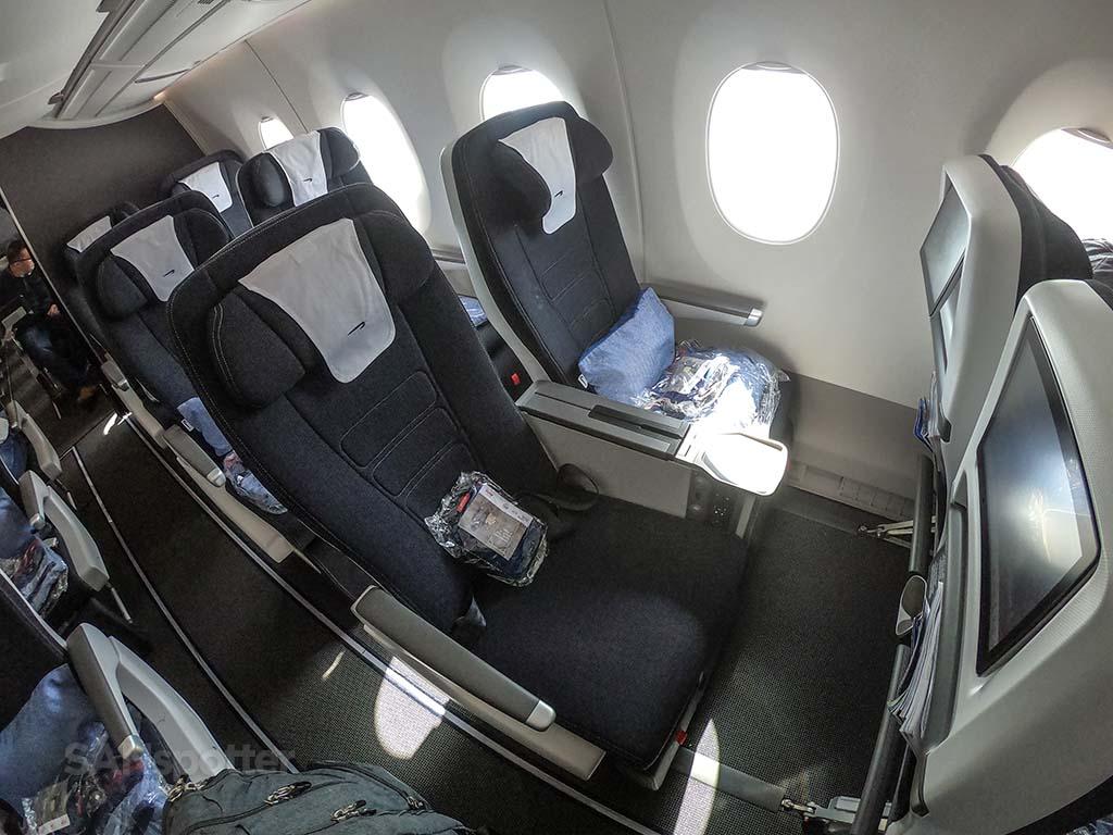 British Airways premium economy seats a350