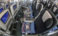 British Airways premium economy seats
