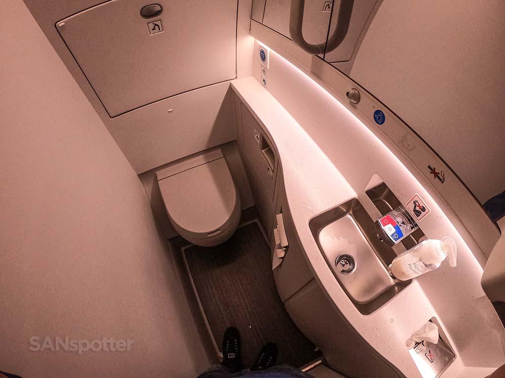 British Airways a350 lavatory