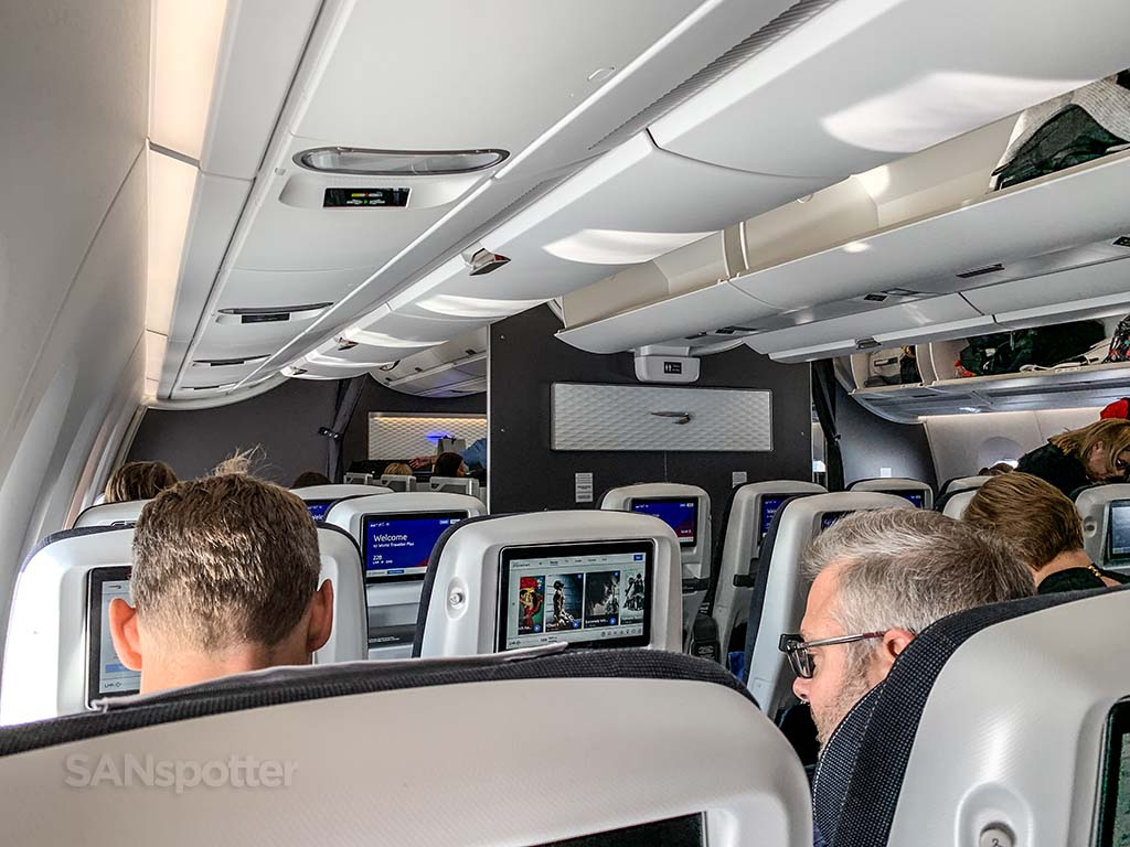 British Airways a350 interior