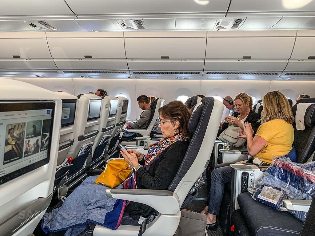 British Airways a350 world traveler plus