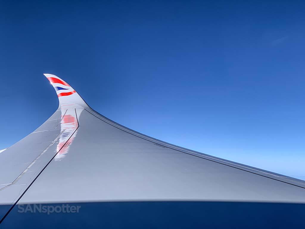 British Airways a350 winglet