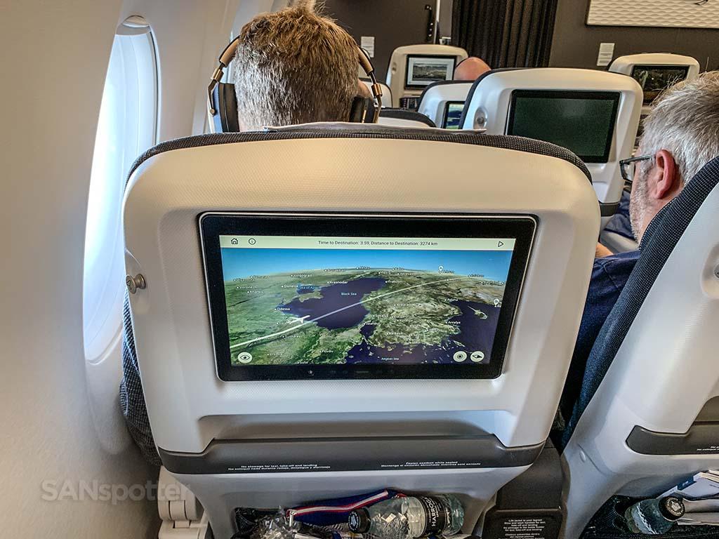 British Airways world Traveler Plus seats a350