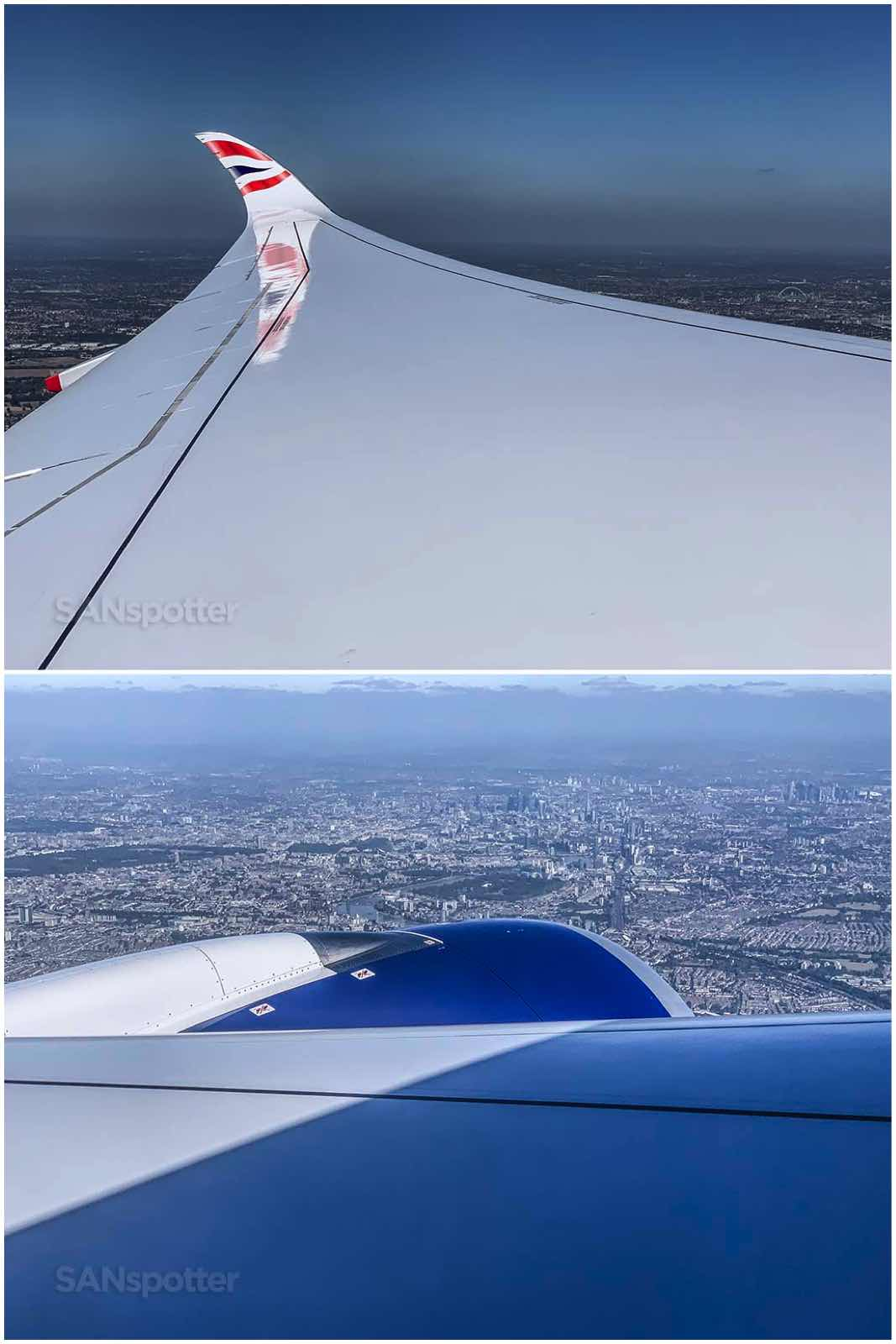 British Airways a350-1000 takeoff