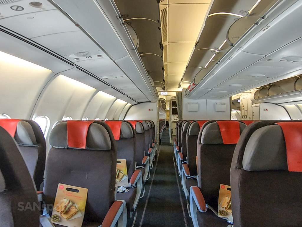 Iberia a340-600 interior