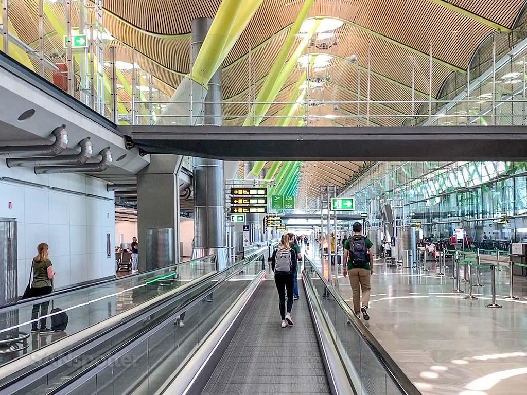 Madrid Barajas Airport interior