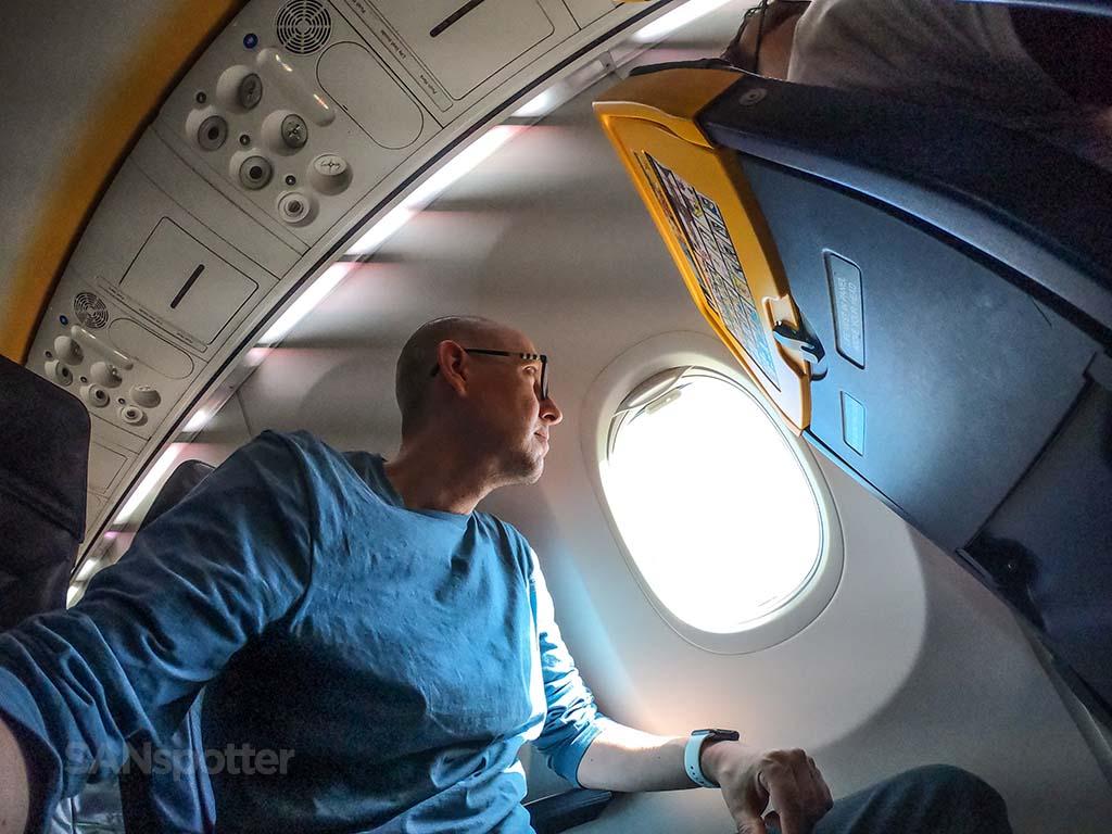 SANspotter selfie Ryanair