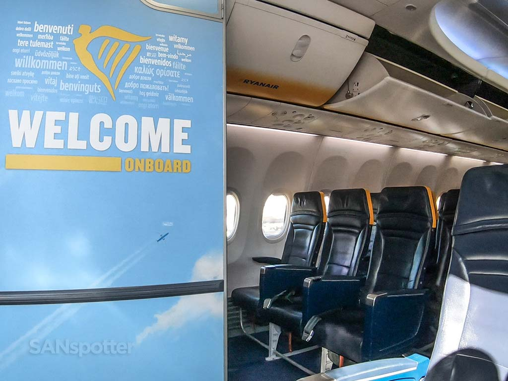 Welcome onboard Ryanair