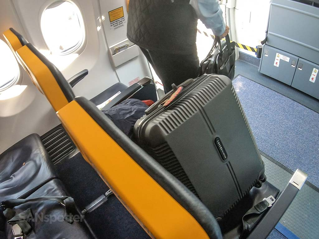Ryanair thin seats
