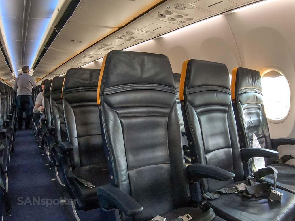 Ryanair Boeing 737 sky interior