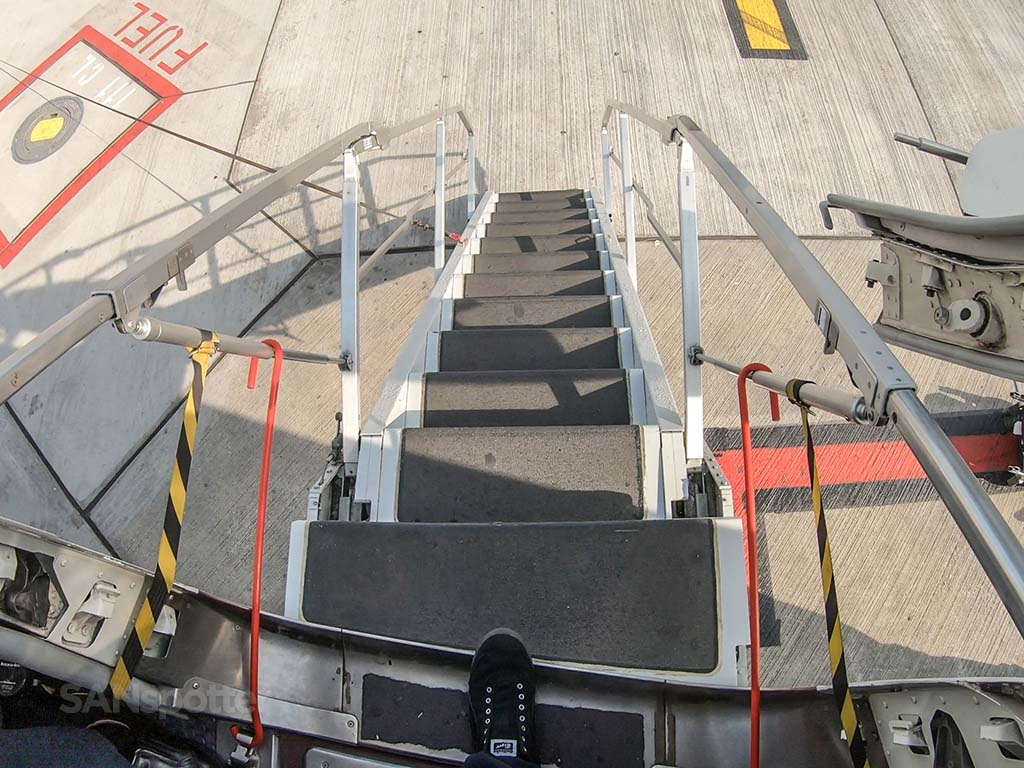 Ryanair air stairs