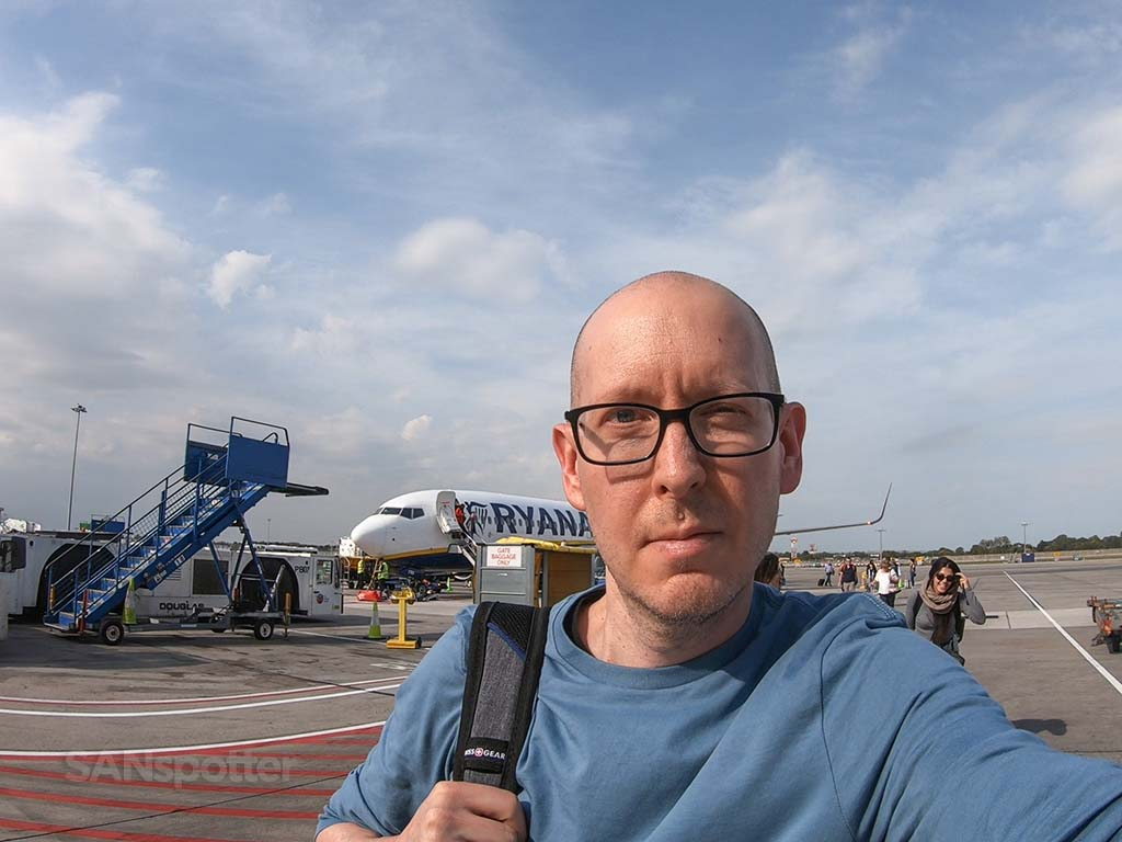 Sanspotter Ryanair review Dublin Airport
