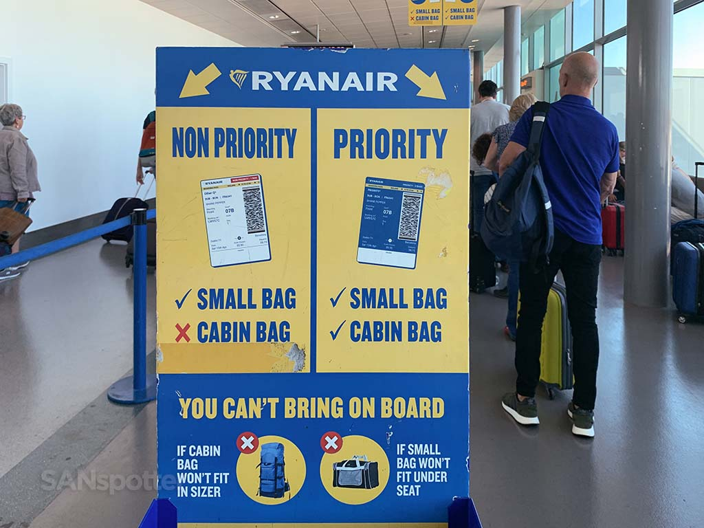 Ryanair Priority vs. Non Priority