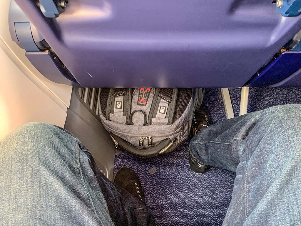 Ryanair leg room