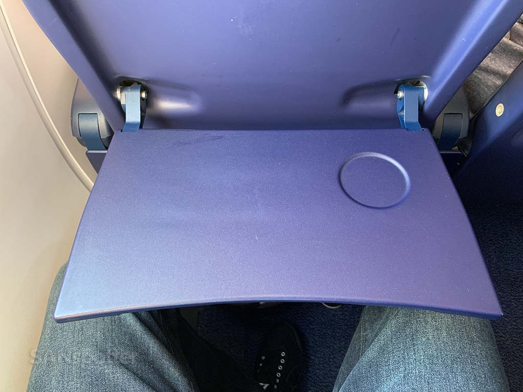 Ryanair tray table