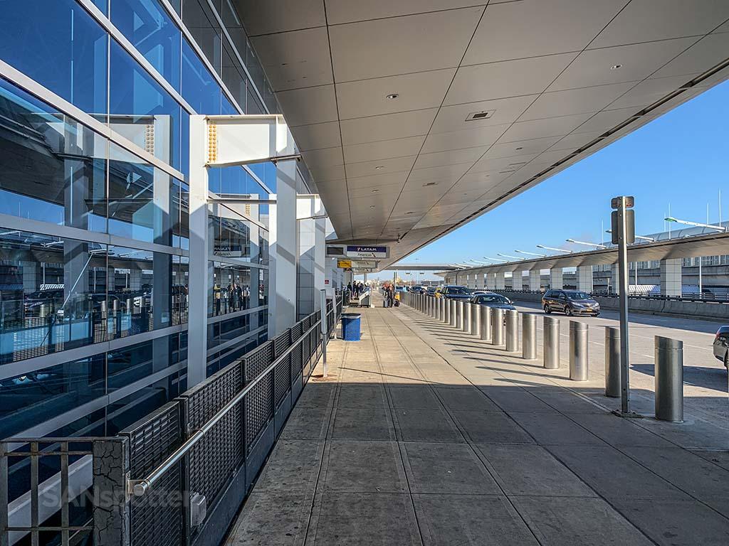 Curbside terminal 8 JFK