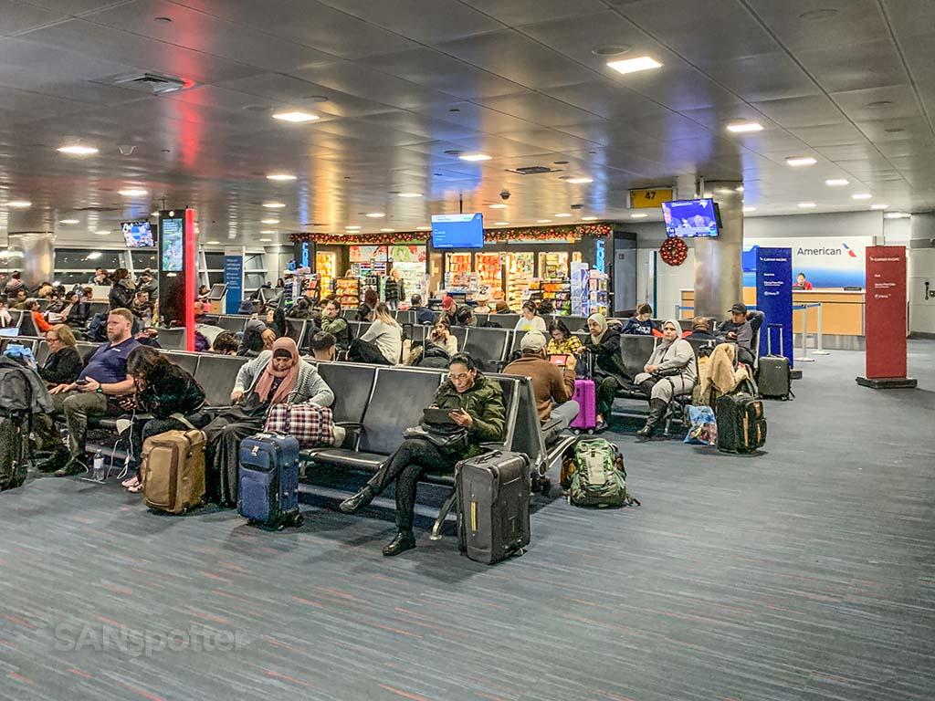 Gate 47 JFK terminal 8