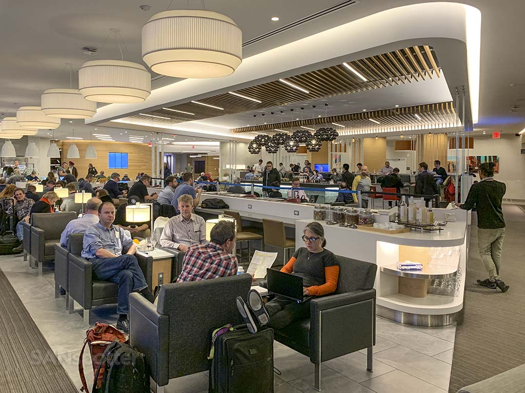 American Airlines Flagship lounge JFK