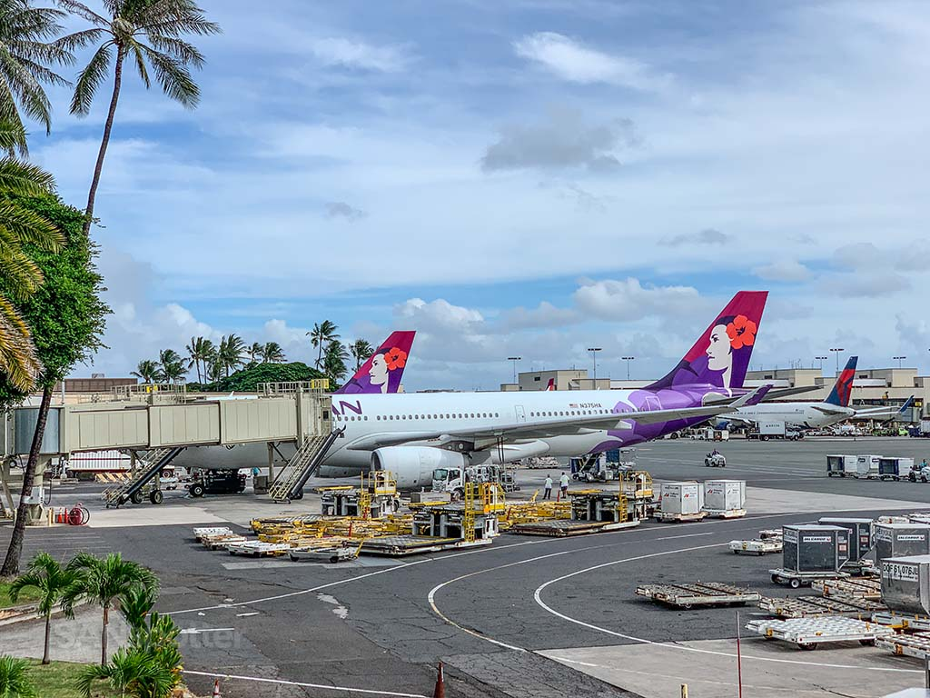 Hawaiian airlines a330 HNL