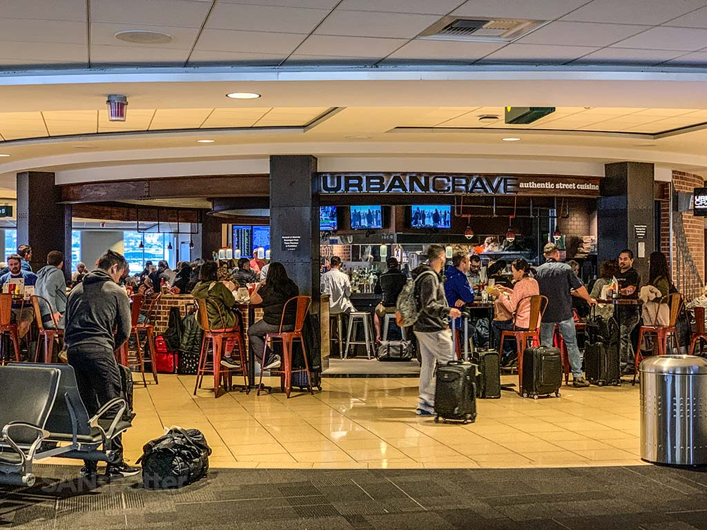 Urban Crave restaurant, San Diego Terminal 1