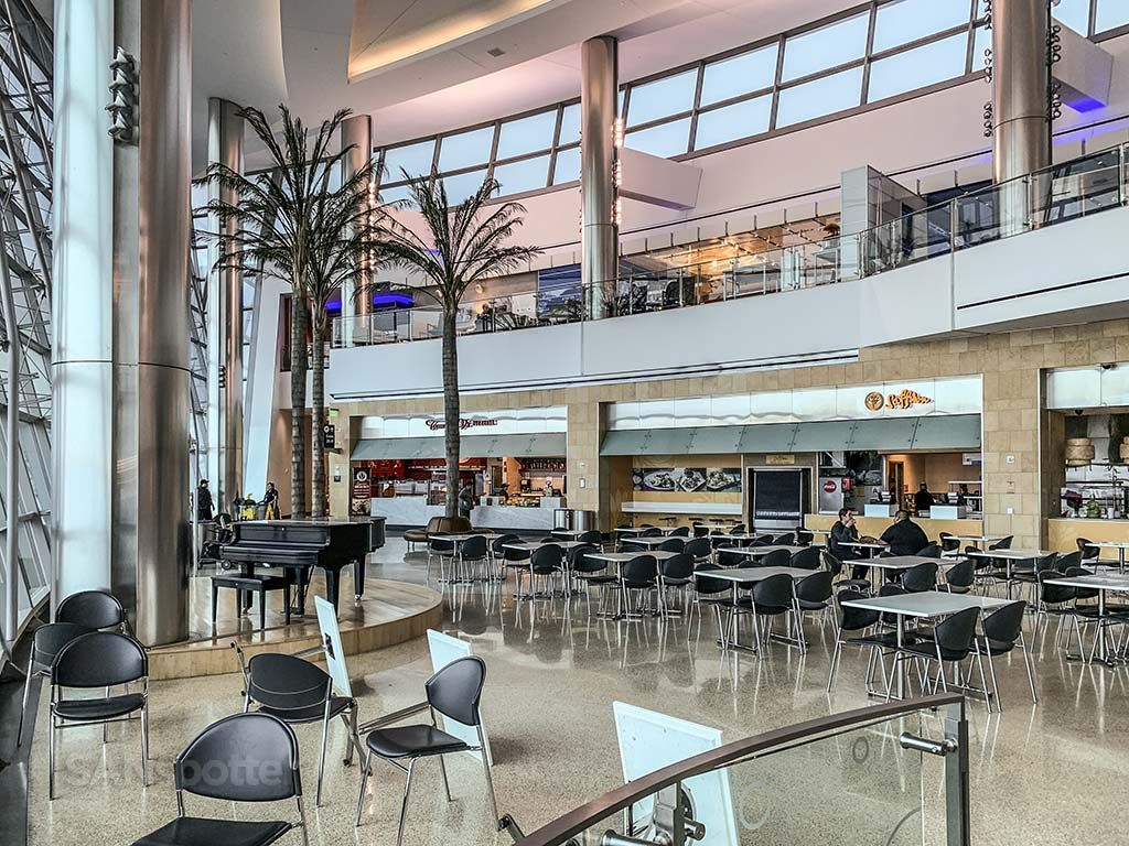 Terminal 2 West food court San Diego Airport pic