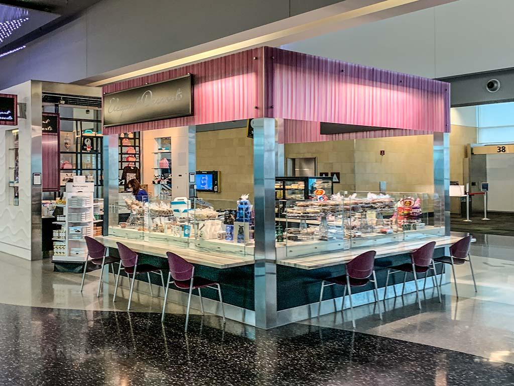Elegant desserts San Diego Airport