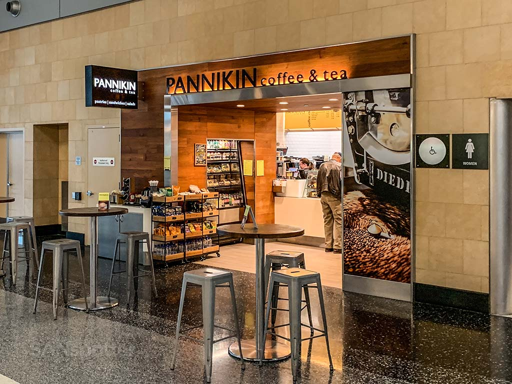 Pannikin coffee San Diego Airport