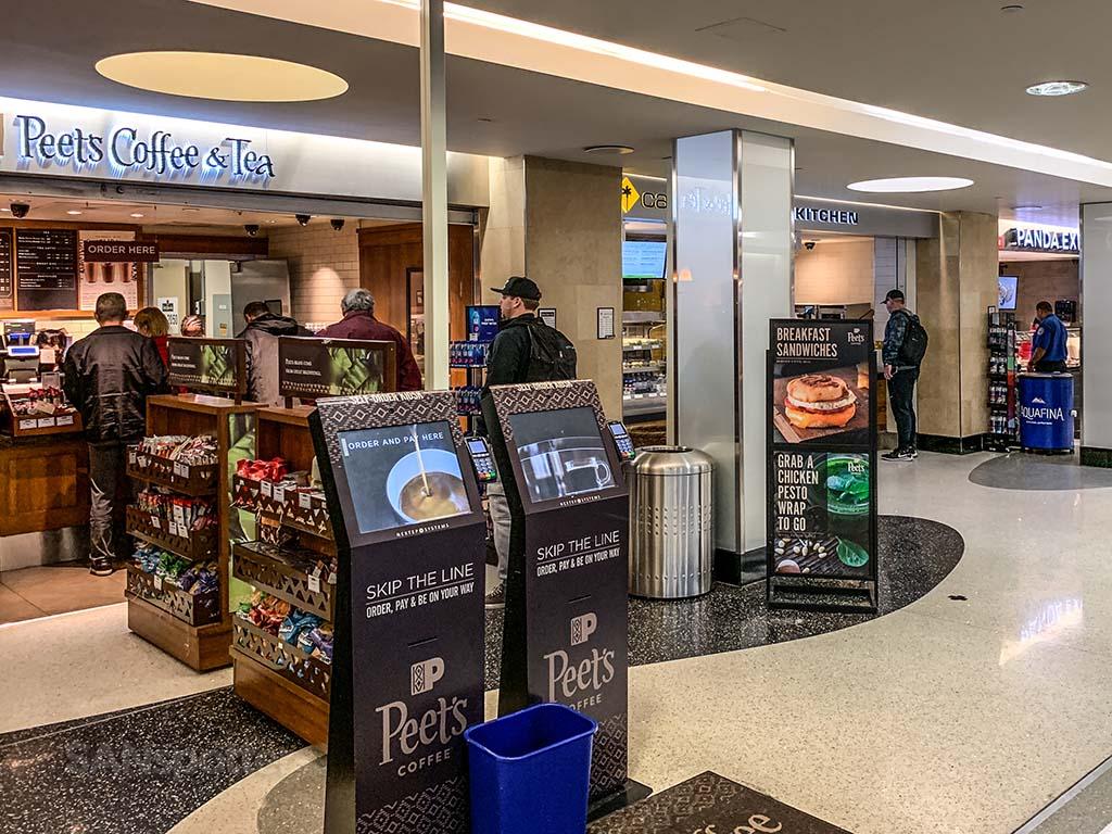 SAN Terminal 2 East food court