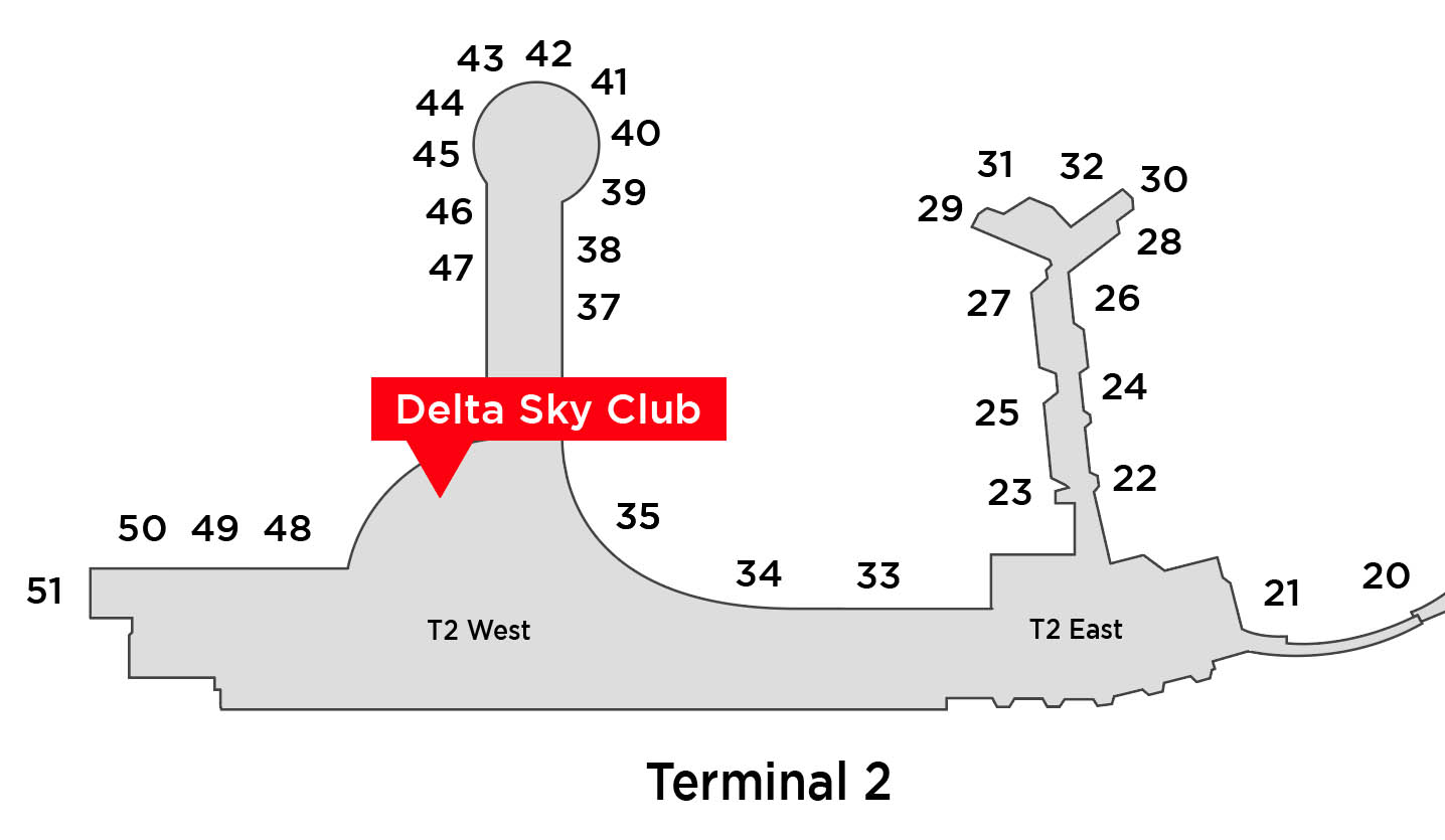 delta sky club map location san diego airport