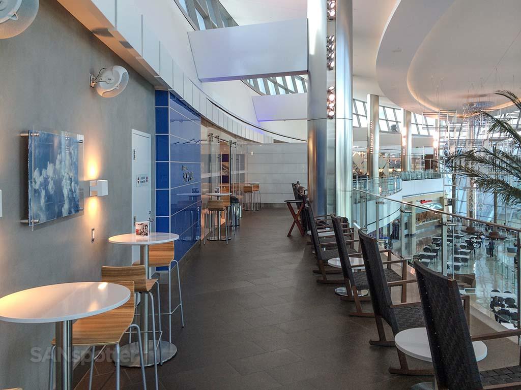 delta sky club terrace san diego airport