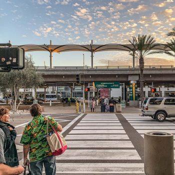 Arrivals level San Diego Airport