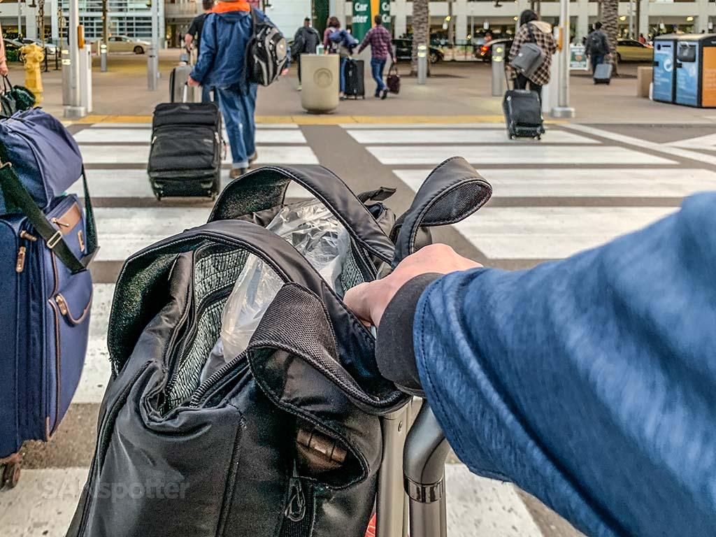 San Diego Airport arrivals