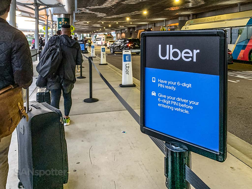 How to use Uber San Diego Airport