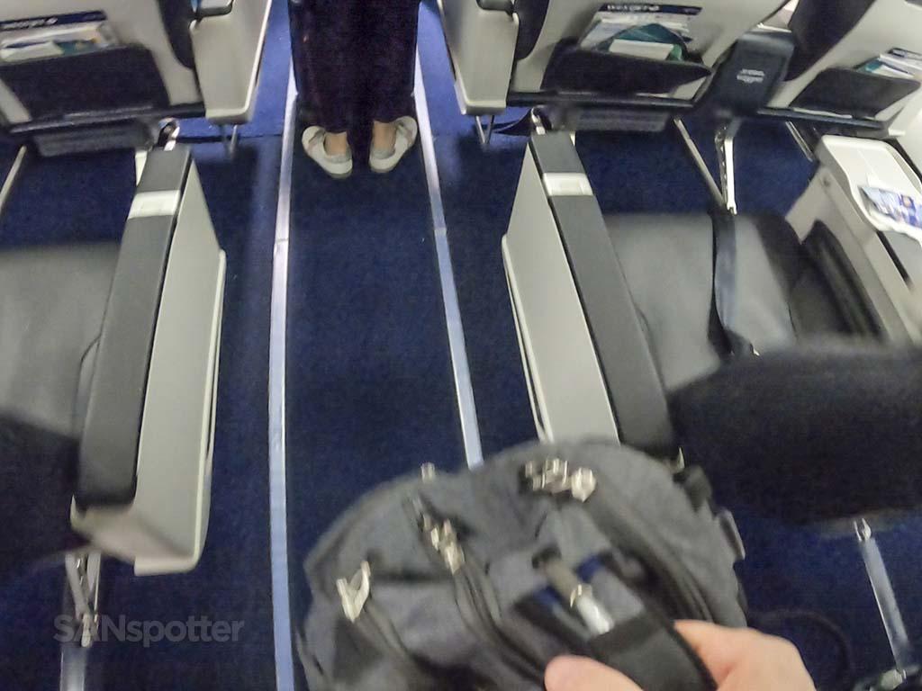 WestJet premium seats