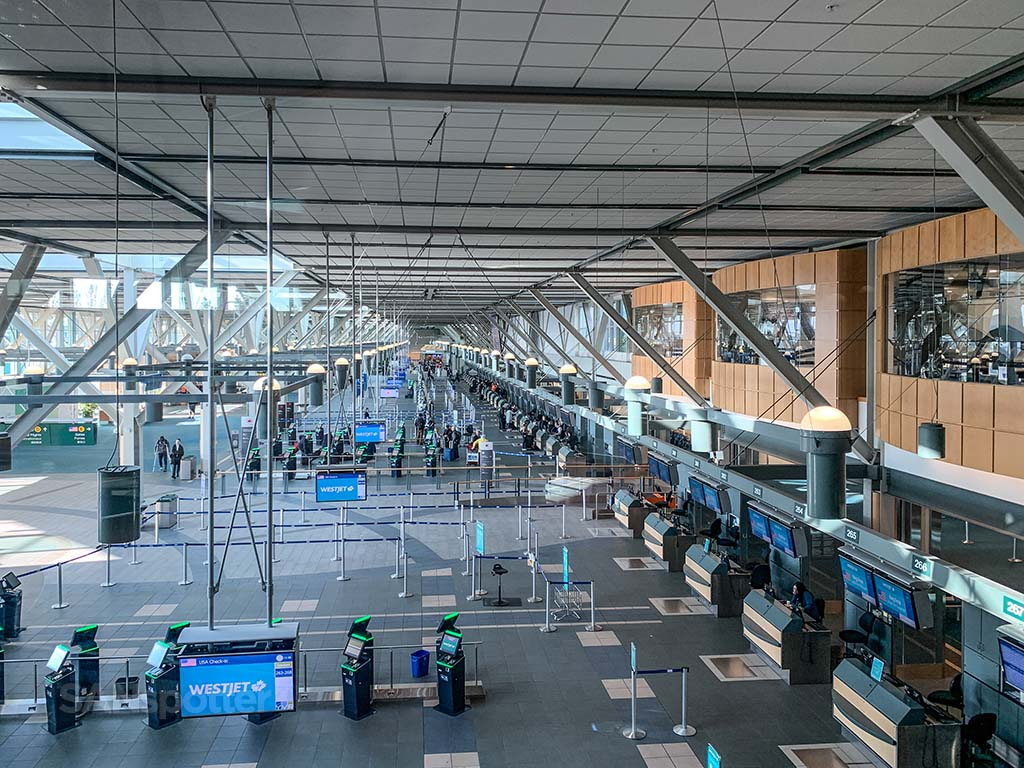 YVR ticketing hall